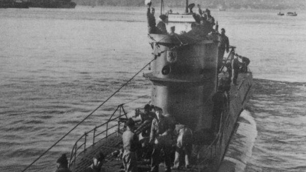 Немецкая подводная лодка U-576
