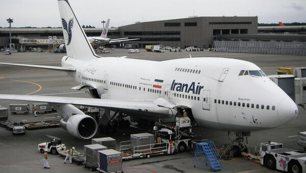 Самолет Boeing 747SP авиакомпании Iran Air. Архивное фото