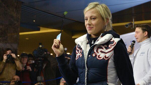 Российская спортсменка Елена Замолодчикова. Архивное фото