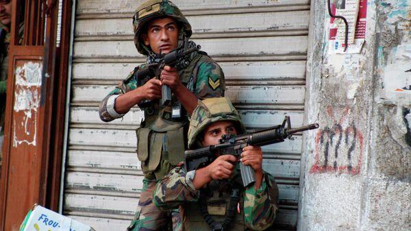 Солдаты ливанской армии