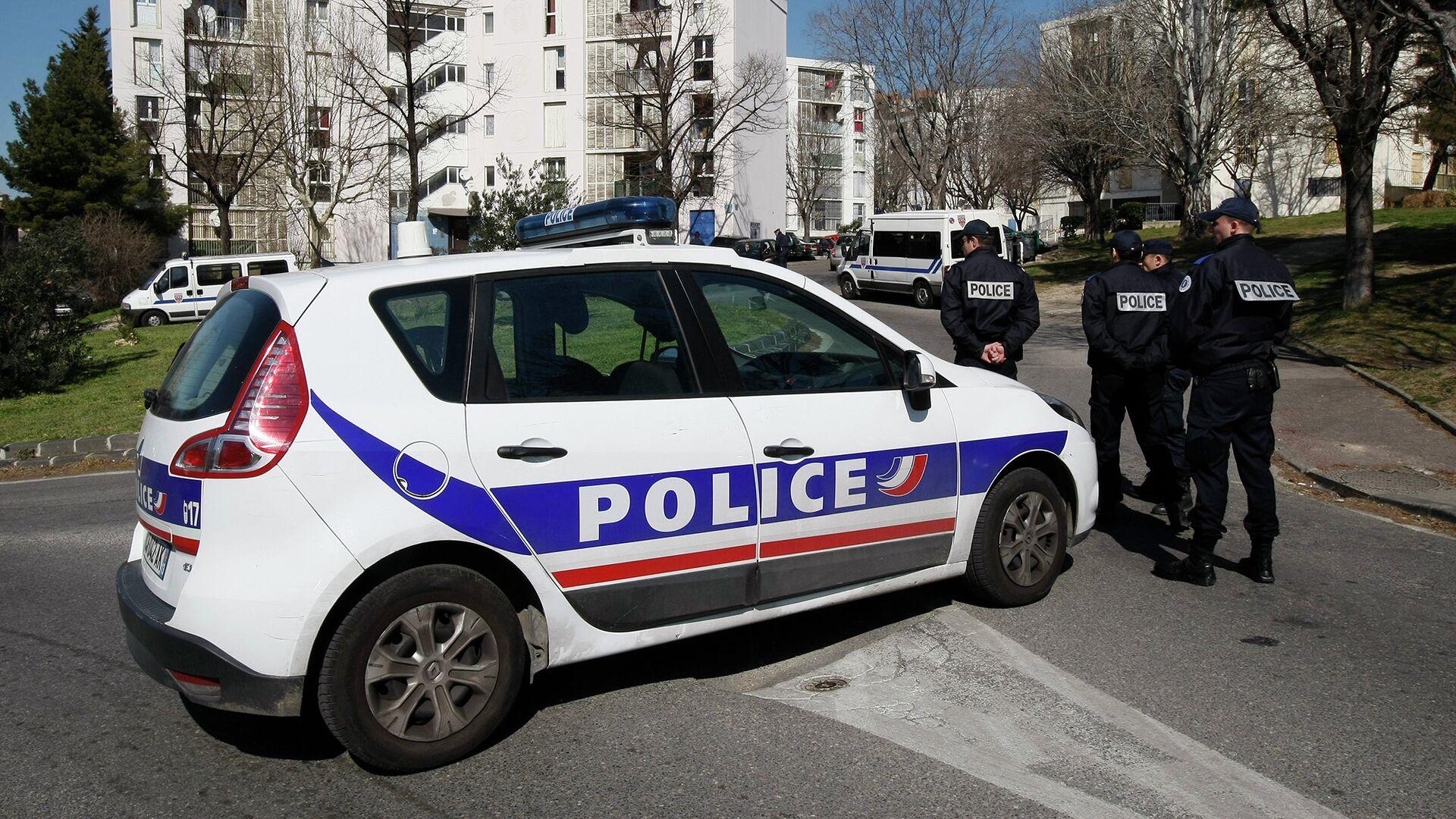 Полиция Франции - РИА Новости, 1920, 23.10.2020