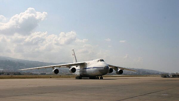 Самолет Ан-124 Руслан ВВС России. Архив