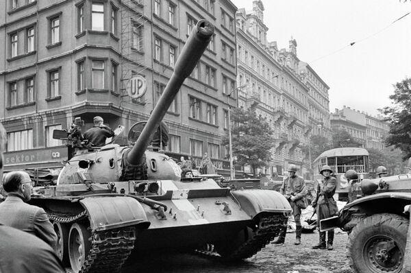 Пражская весна в Чехословакии