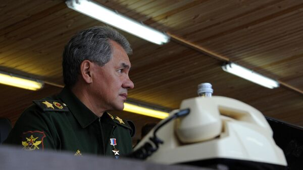 Министр обороны РФ Сергей Шойгу , архивное фото