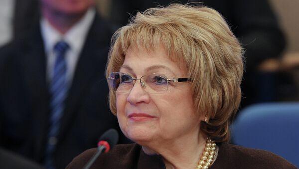 Заместитель председателя Госдумы РФ Людмила Швецова. Архивное фото