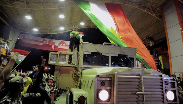 Курды из военизированного формирования Пешмерга, 29 октября 2014