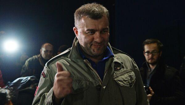 Актер Михаил Пореченков в Донецке. Архивное фото
