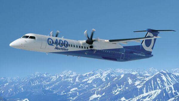 Самолет Bombardier Q400 NextGen. Архивное фото