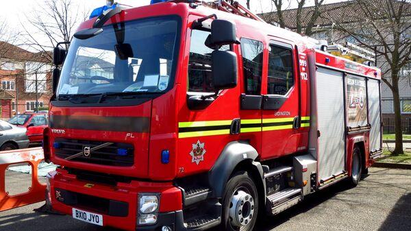 Автомобиль пожарной бригады в Великобритании