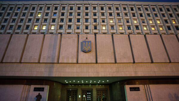 Здание Центральной избирательной комиссии Украины. Архивное фото