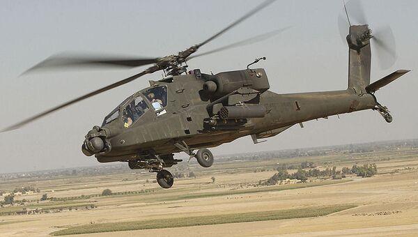 Вертолет Apache. Архивное фото