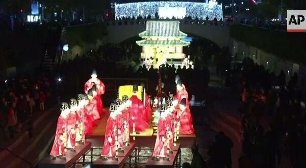 Ночь в Сеуле стала ярче на 200 тысяч фонарей