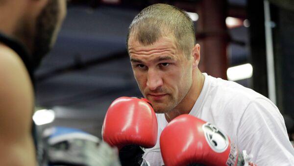 Российский боксер Сергей Ковалев, архивное фото