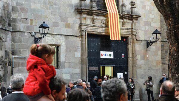 Опрос населения Каталонии о независимости автономии. Архивное фото