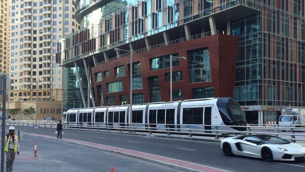 Запуск трамвайной линии в Дубае