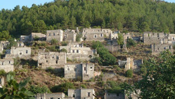 Развалины деревни Каякёй
