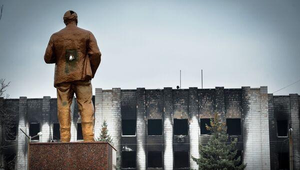 Шахты Донбасса