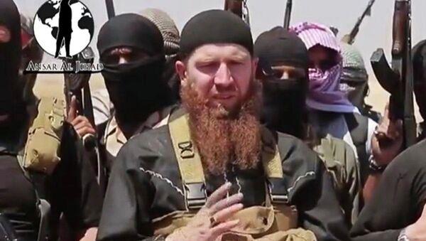 Командир группировки радикальных исламистов Исламское государство Ирака и Леванта (ИГИЛ) Тархан Батирашвили. Архивное фото
