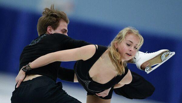 Российская танцевальная пара Виктория Синицина и Никита Кацалапов. Архивное фото