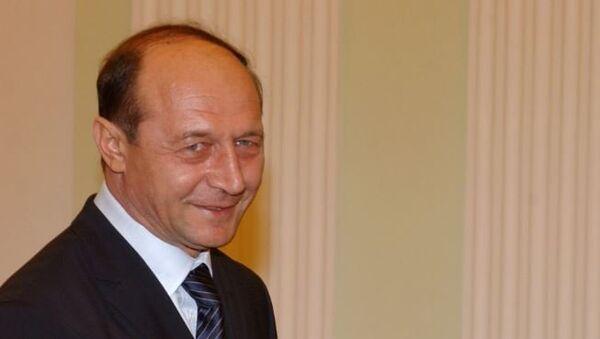 Экс-президент Румынии Траян Бэсеску. Архивное фото