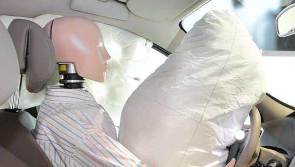 Подушка безопасности. Архивное фото
