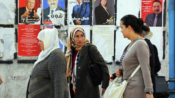 Агитация на президентских выборах в Тунисе