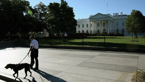 Белый дом США в Вашингтоне