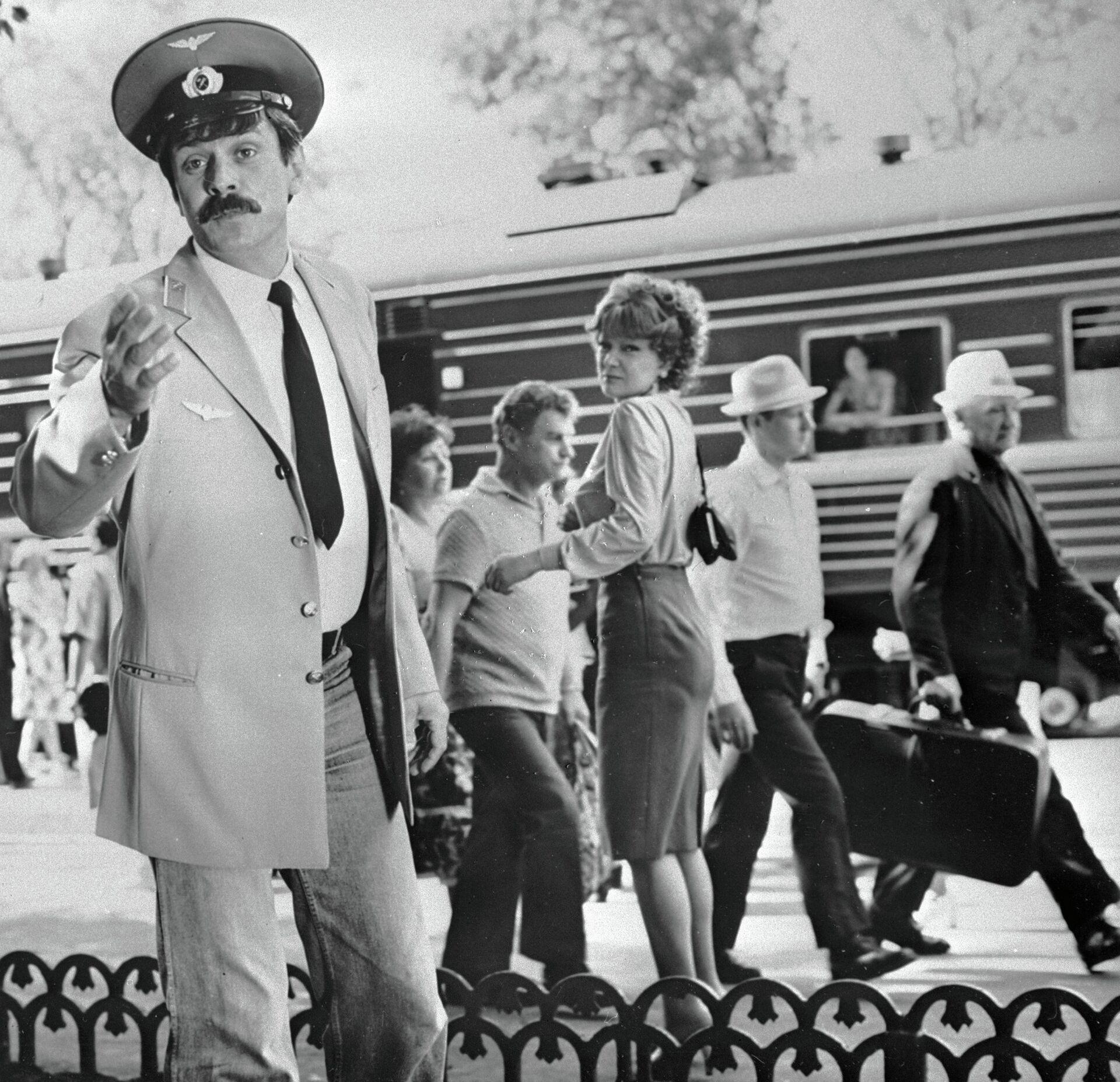 Кадр из фильма «Вокзал для двоих» - РИА Новости, 1920, 29.07.2021
