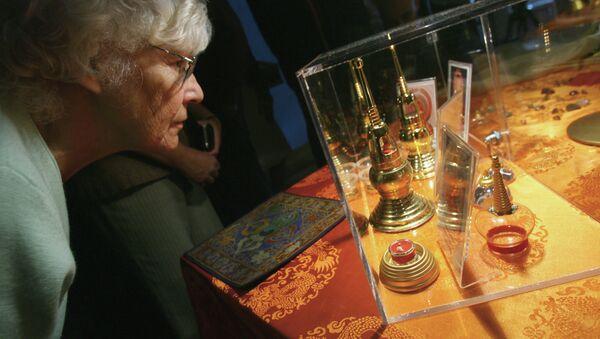 Выставка мировой коллекции буддийских святынь в Москве