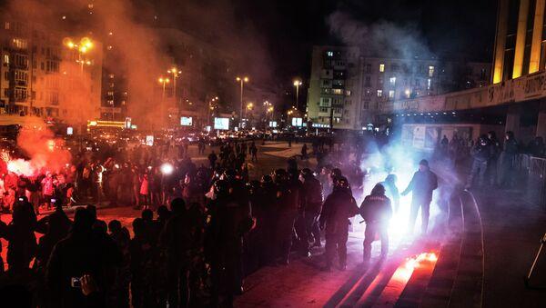 В Киеве футбольные фанаты попытались сорвать концерт Ани Лорак. Архивное фото