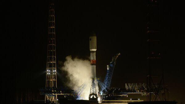 Запуск ракеты-носителя Союз-2.1б с новым аппаратом системы Глонасс. Архивное фото