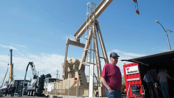 Модель нефтяной насосной станции в Южной Дакоте