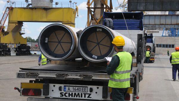 Трубы для Морского газопровода Южный поток