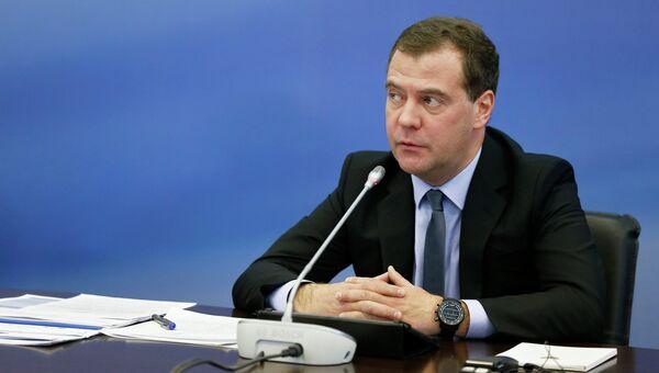 Медведев. Архивное фото
