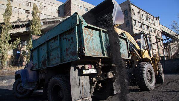 Погрузка угля