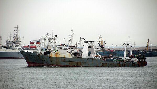 Корейское рыболовное судно Орионг-501