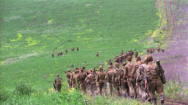 Солдаты Федеральных войск МО РФ в Чеченской Республике