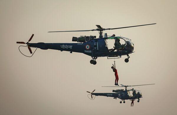 ВМС Индии во время празднования Дня военно-морского флота