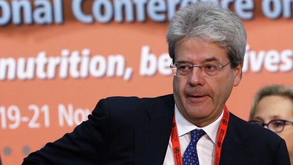 Глава МИД Италии - Паоло Джентилони. Архивное фото