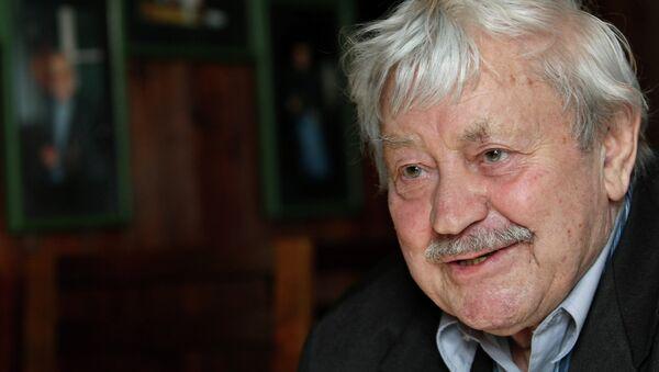 Литовский актер и режиссер Донатас Банионис. Архивное фото