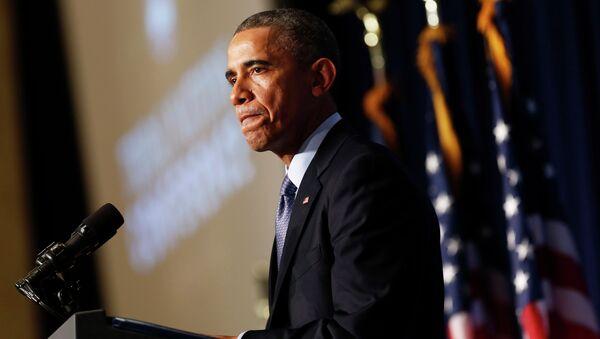 Президент США Барак Обама, архивное фото
