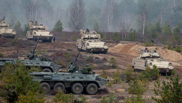 Войска НАТО в Литве. Архивное фото