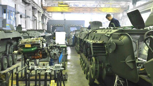 Цех завода, входящего в состав ГК Укроборонпром. Архивное фото