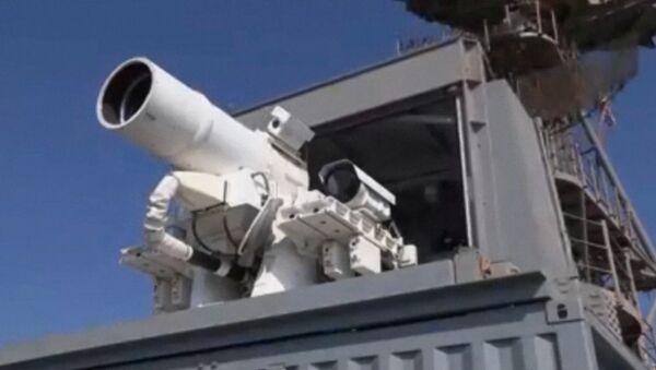 Лазерная пушка ВМС США сбила беспилотник на испытаниях в Персидском заливе