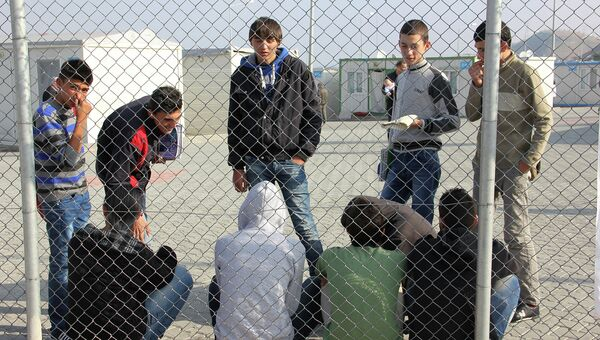 Лагерь сирийских беженев. Архивное фото