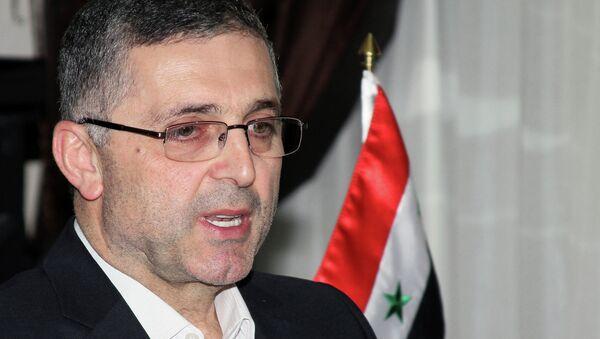 Министр по делам национального примирения Сирии Али Хайдар. Архивное фото