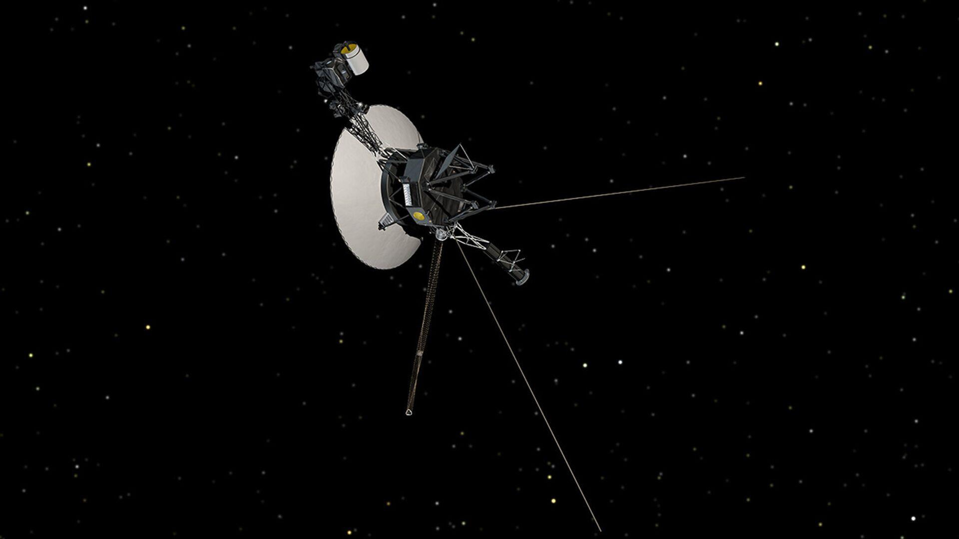 Космический зонд НАСА Вояджер-1 - РИА Новости, 1920, 11.05.2021