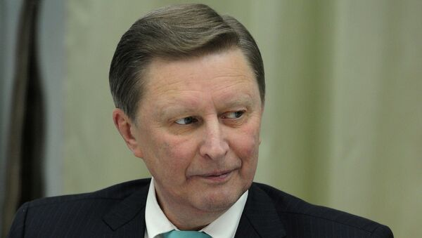 Руководитель администрации президента России Сергей Иванов. Архивное фото