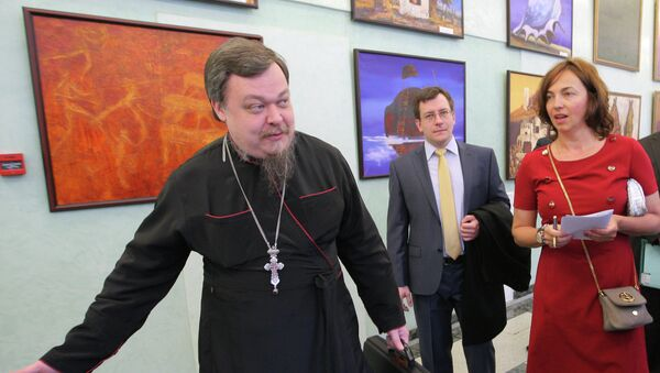 Т.Рогозина открыла выставку работ детей с ограниченными возможностями в Госдуме РФ