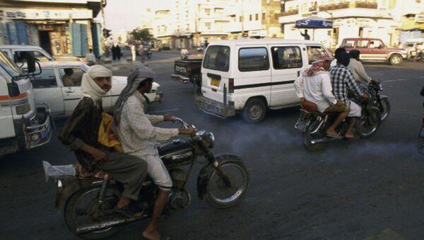 Улица в Ходейде, Йемен. Архивное фото